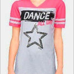 Justice dance shirt